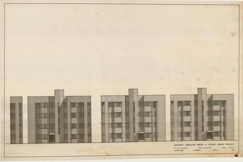 Muzharul Islam Archive: Drawings: Jaipurhat Housing